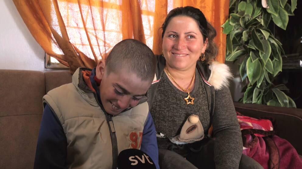 Kariman med fastern Nafia Khalaf