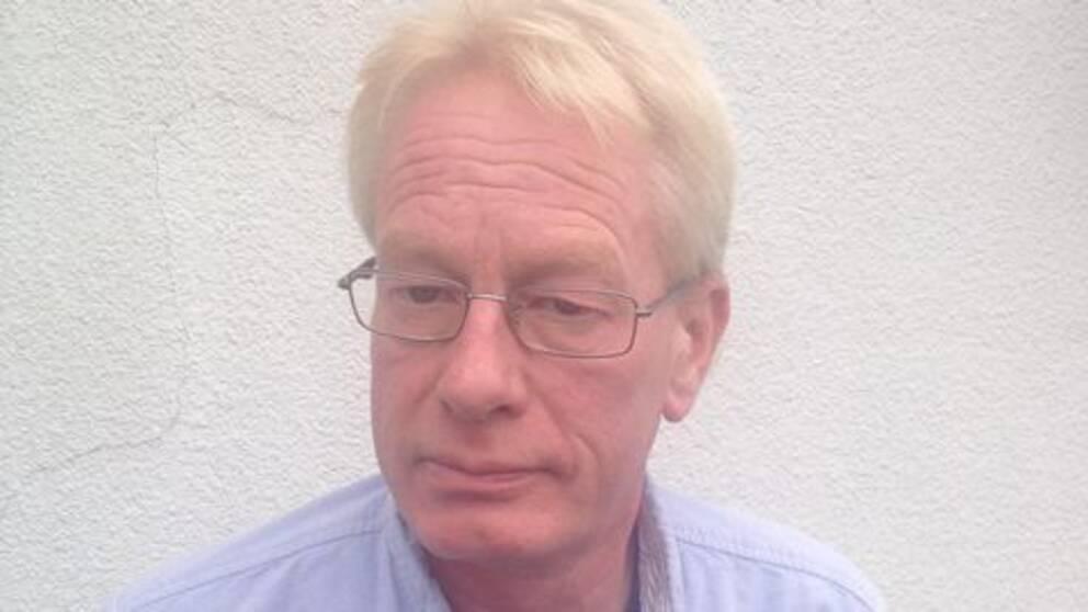 Jimmie Trevett, ordförande på Riksförbundet för social och mental hälsa.