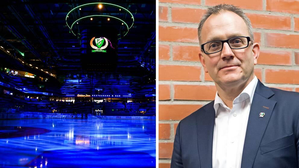 Stefan Larsson, VD i Färjestad.