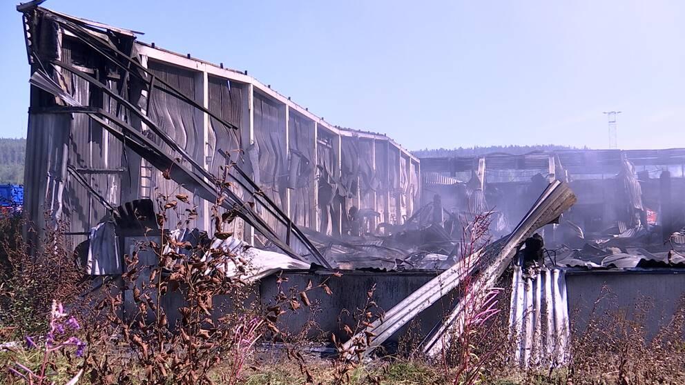Ruinerna efter lagerhotellet