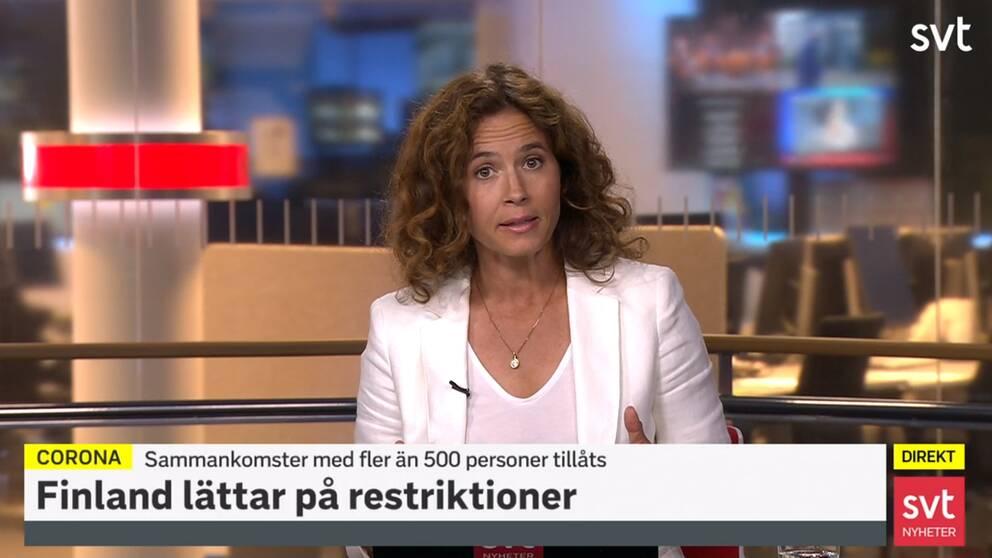 Programledare Karin Fagerlund