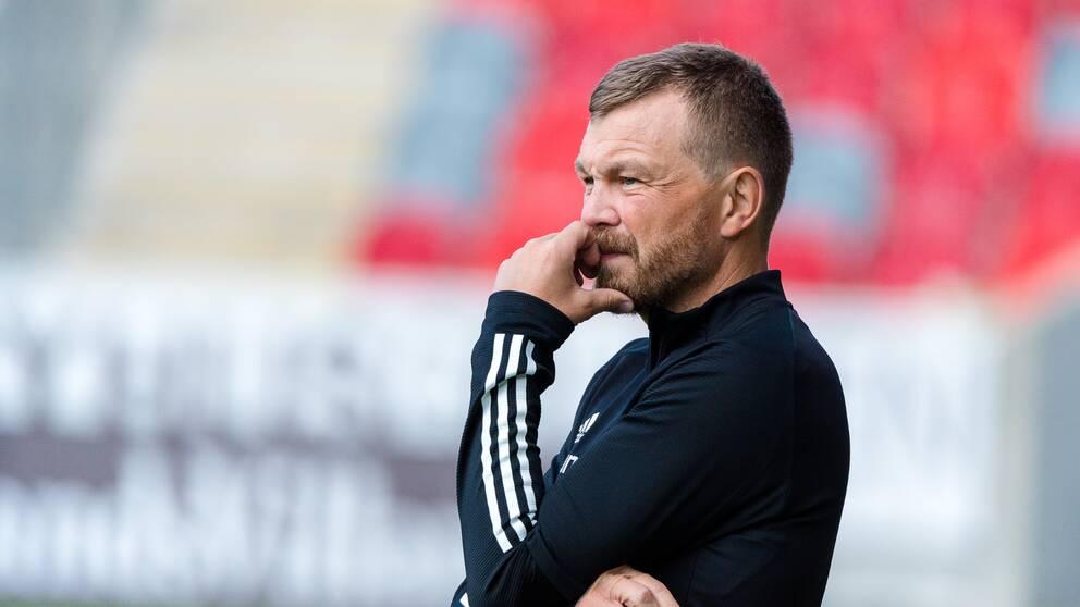 GIF Sundsvalls tränare Henrik Åhnstrand