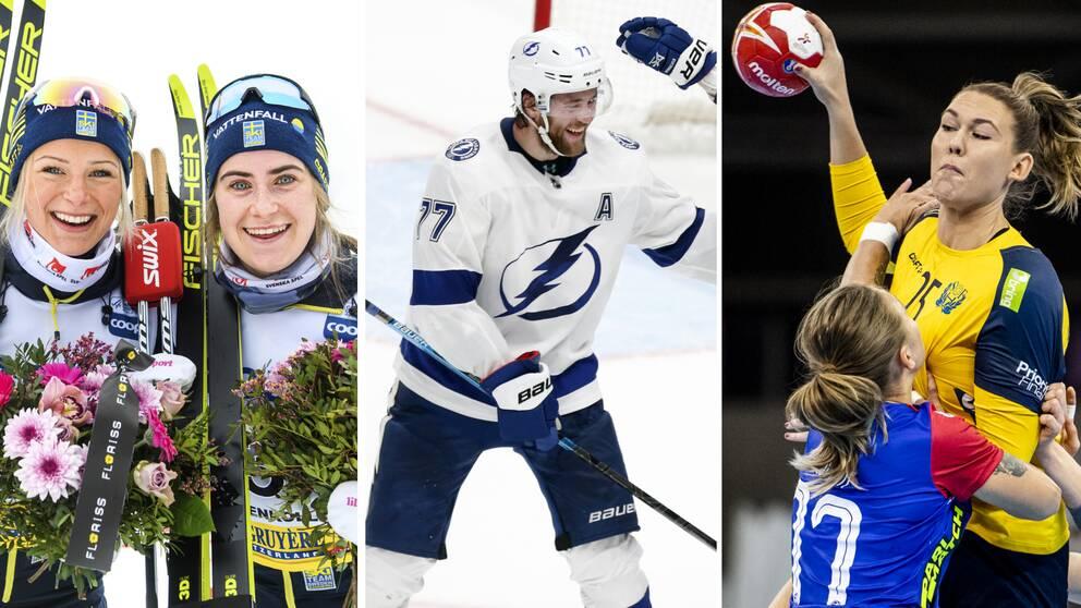 Frida Karlsson, Ebba Andersson, Victor Hedman, Mikaela Mässing.
