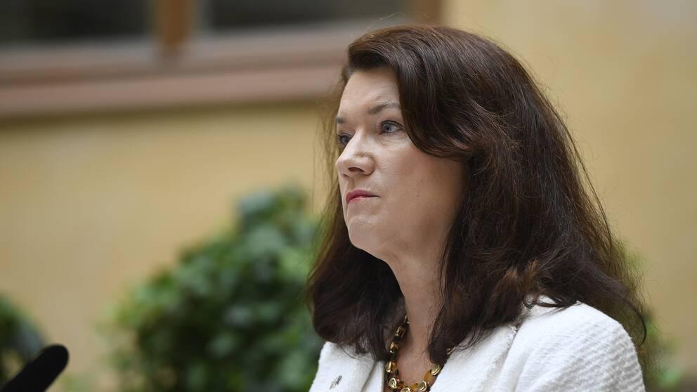 Ann Linde (S) Utrikesminister