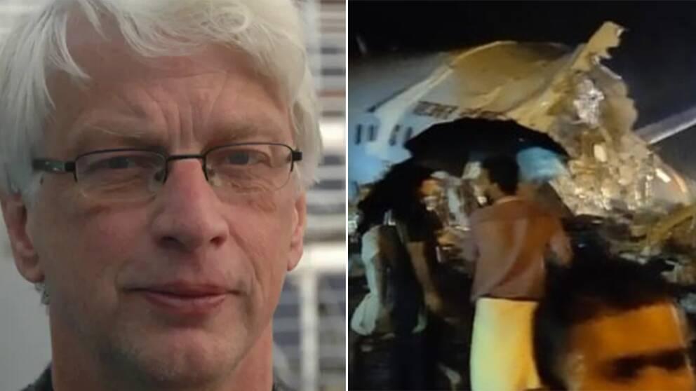 Flygexperten Jan Ohlsson menar att det är den mänskliga faktorn som fått planet att kraschlanda.