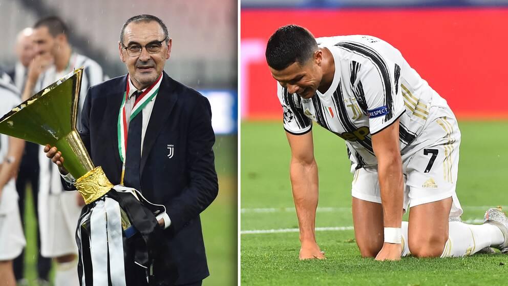 Maurizio Sarri har nu fått sparken från Juventus.