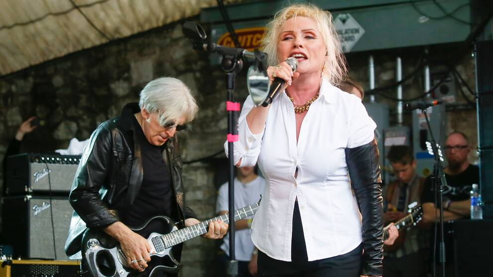 Chris Stein och Debbie Harry – frontfigurerna i Blondie