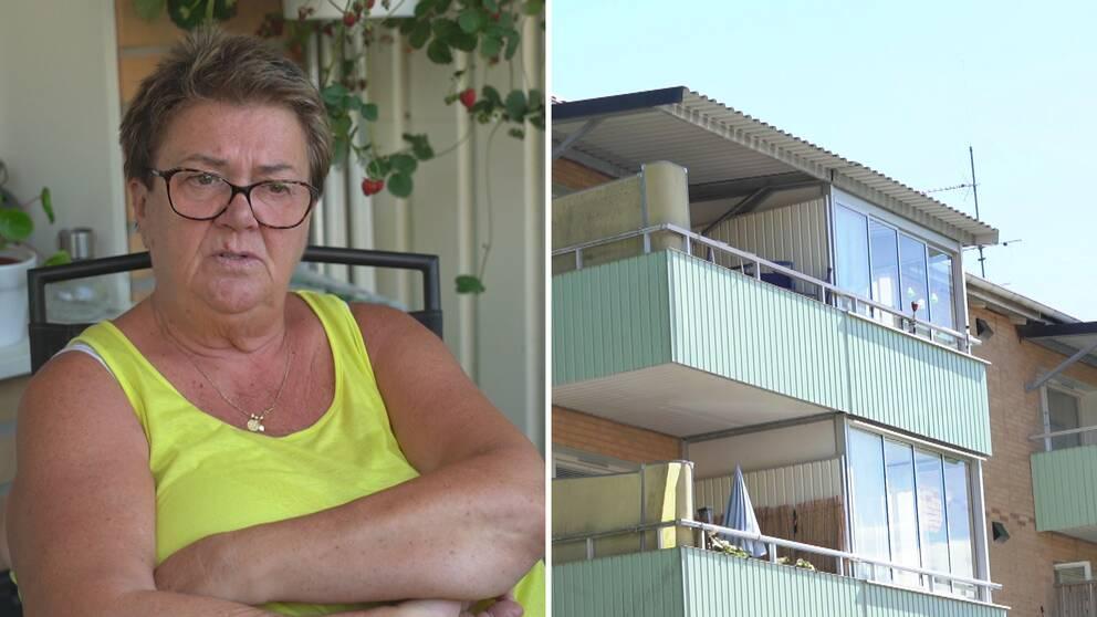 Anita Landegren, hyresgäst och medlem i Hyresgästföreningen, vill se lägre hyror och nyproduktion som fler har råd med.