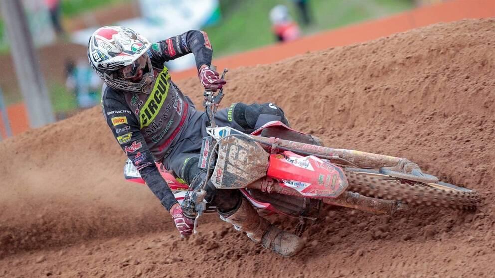 Alvin Östlund är definitivt på rätt väg i motocross-VM.
