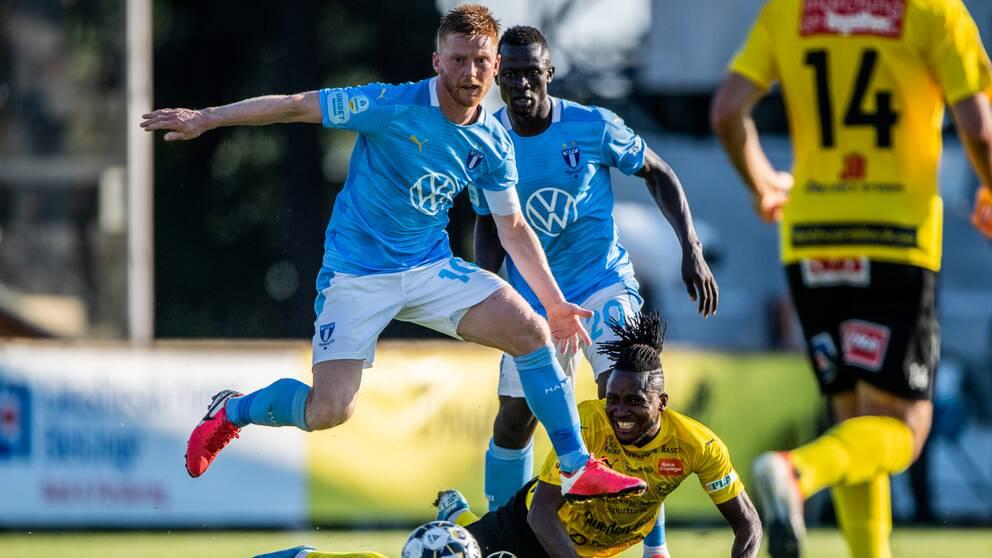 Anders Christiansen gjort ett av Malmös mål.