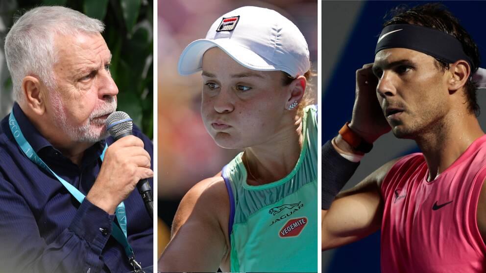 Efter bland annat Ashleigh Barty och Rafael Nadals avhopp anser Björn Hellberg att US Open inte borde spelas.