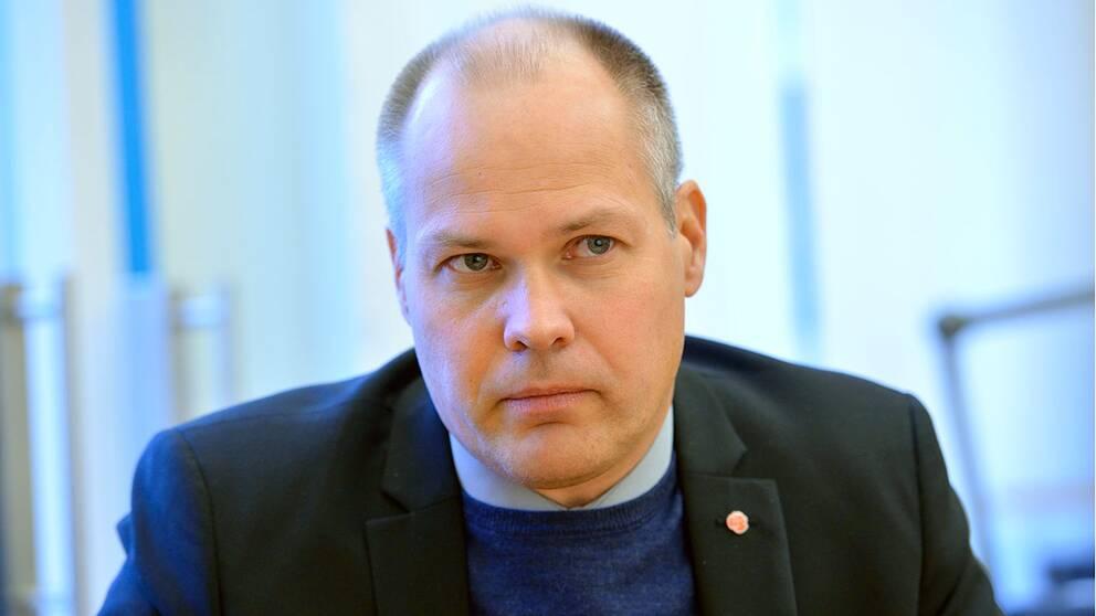 Justitie-och migrationsminister Morgan Johansson (S).