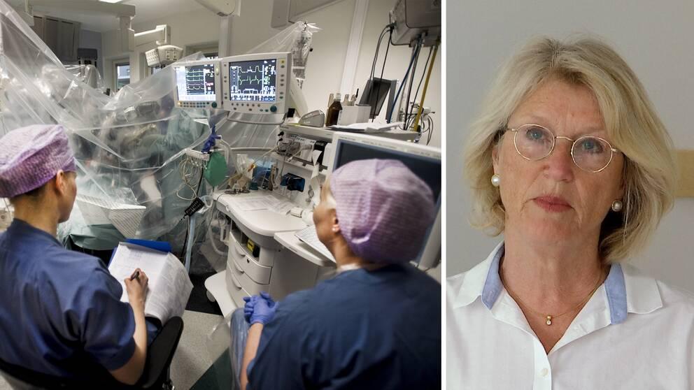 Lotta Olmarken Ingler, hälso- och sjukvårdsdirektör region Dalarn