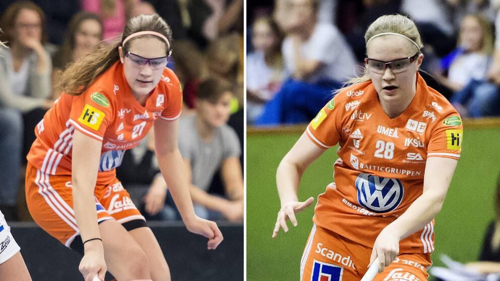 Systrarna Oona och Veera Kauppi.