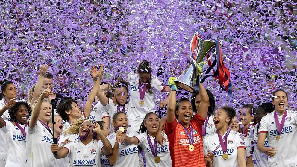 Lyon vann Champions League i fjol.