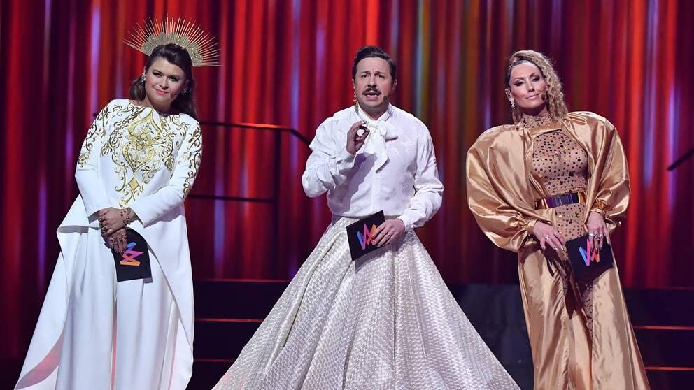 Melodifestivalen 2021 blir av, det säger Hanna Stjärne i Morgonstudion.