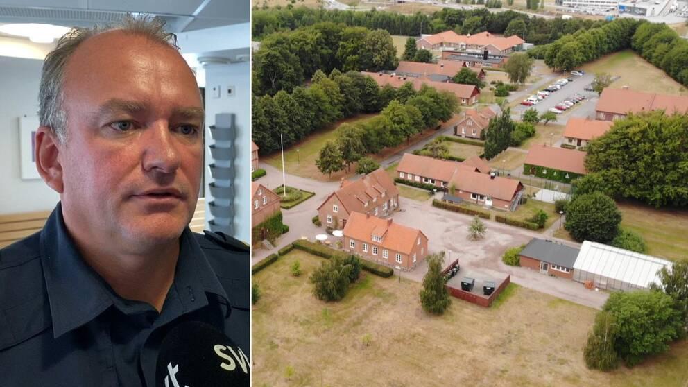 Joakim Nyberg är polischef i Lund, som är den kommun där Råby ungdomshem ligger i.