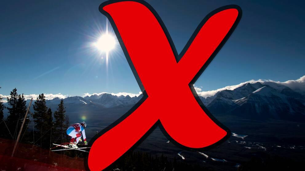 Det blir inga alpina världscuptävlingar i Lake Louise i vinter. Inte heller någon annanstans i Nordamerika.