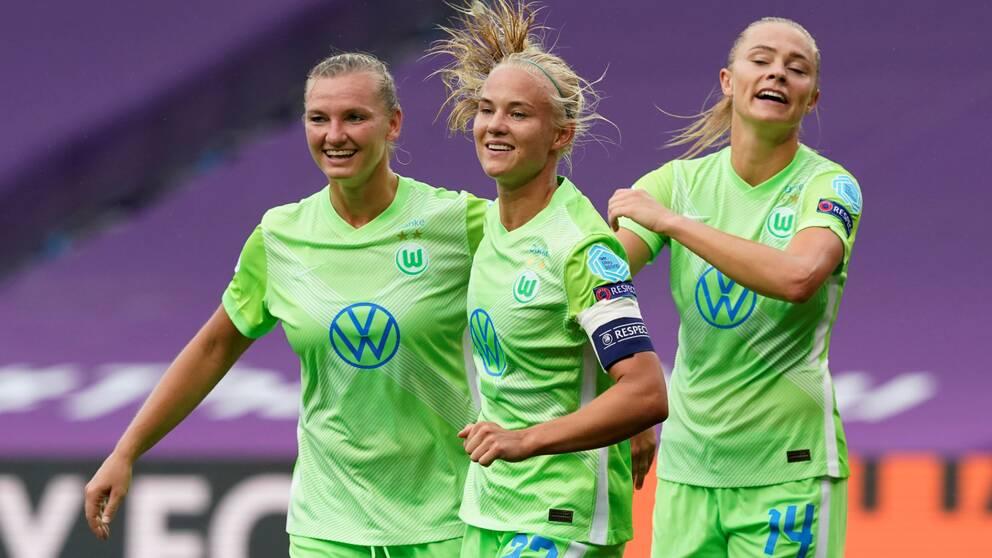 Wolfsburg är klart för semifinal.