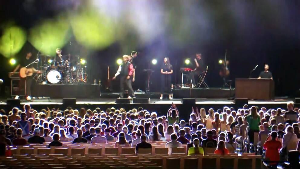 Konsert under coronapandemin