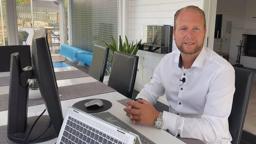 Daniel Jobbar Hemma Aret Ut Blir Tufft Nar Hosten Kommer Svt Nyheter