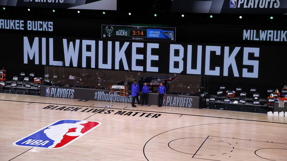 Milwaukee Bucks bojkottade match fem i NBA-slutspelet.