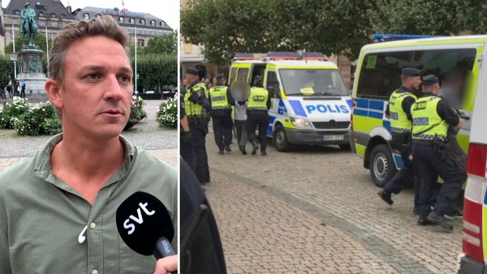 Tre Personer Gripna For Hets Mot Folkgrupp I Malmo Svt Nyheter