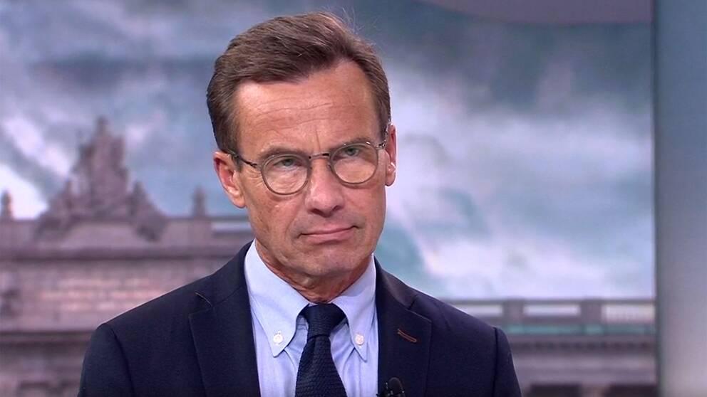 Ulf Kristersson: Kommer inte låta C diktera regeringsfrågan | SVT Nyheter