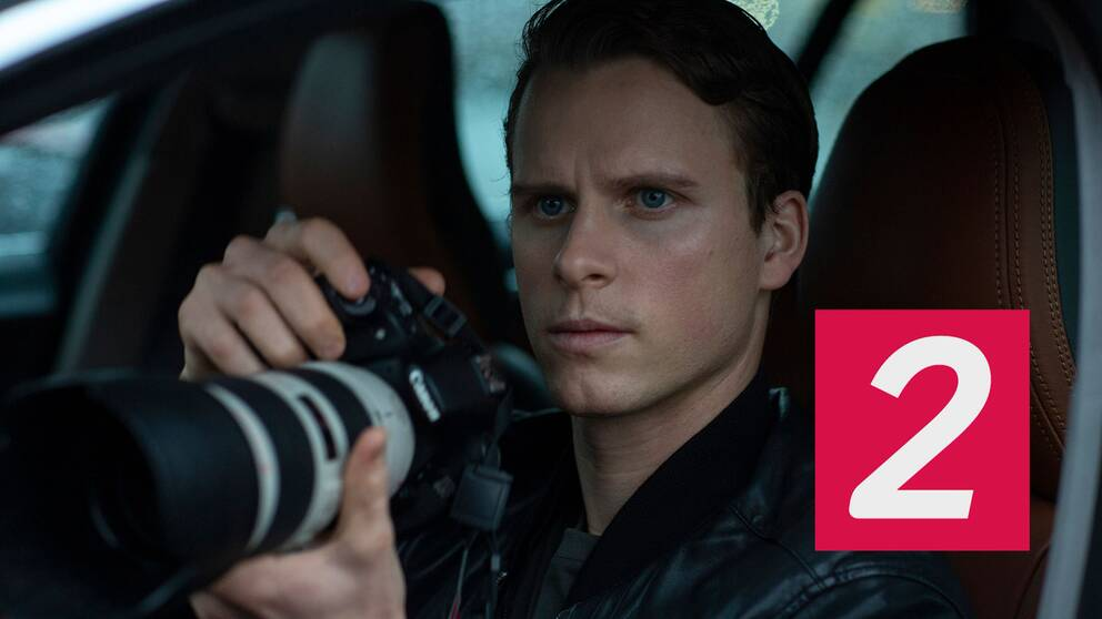 Adam Pålsson i rollen som Kurt Wallander i Netflix nya tv-serie Young Wallander.