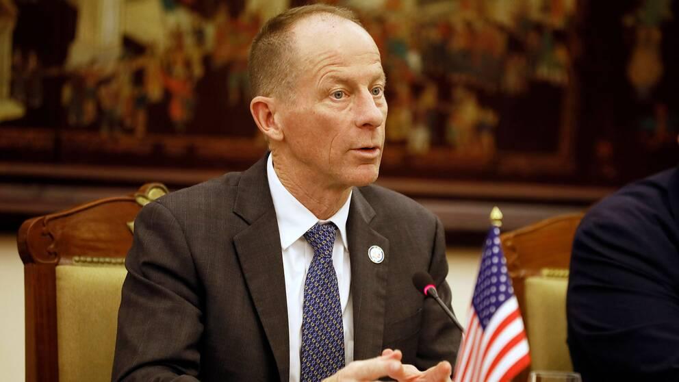 David Stilwell, USA:s biträdande minister med ansvar för Sydostasien och Stillahavsregionen.