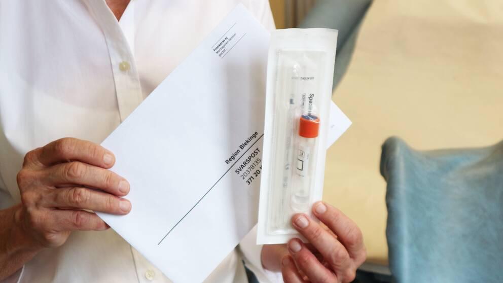 självtest av HPV för kvinnor i Blekinge