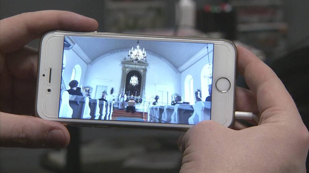 Onlinesänd begravning