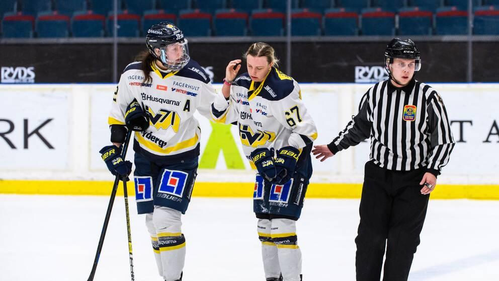 Förra säsongens seriesuverän HV71 får tummen ned av tränarna.