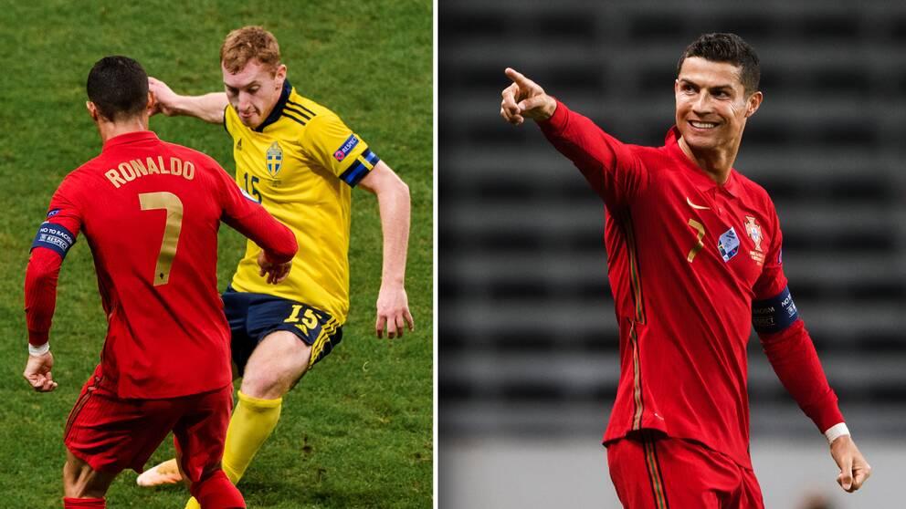 Cristiano Ronaldo hyllade Dejan Kulusevski efteråt.