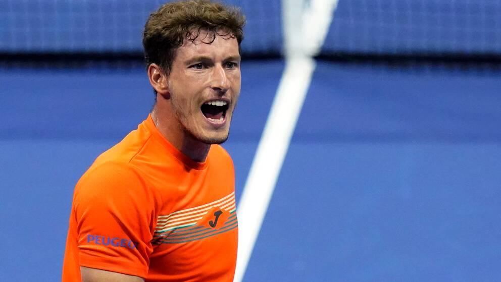 Pablo Carreno Busta är klar för semifinal i US Open.
