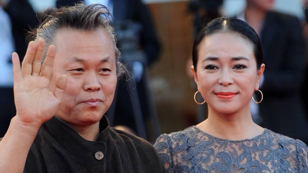 Pietas regissör Kim Ki-Duk och skådespelerskan Cho Min-Soo.