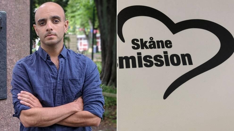 Kamyar Alinejad, Skånes stadsmission