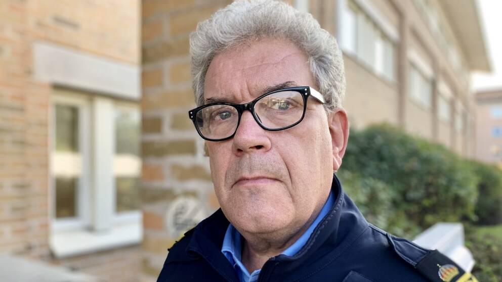 Johan Levin, lokalpolisområdeschef i Nyköping
