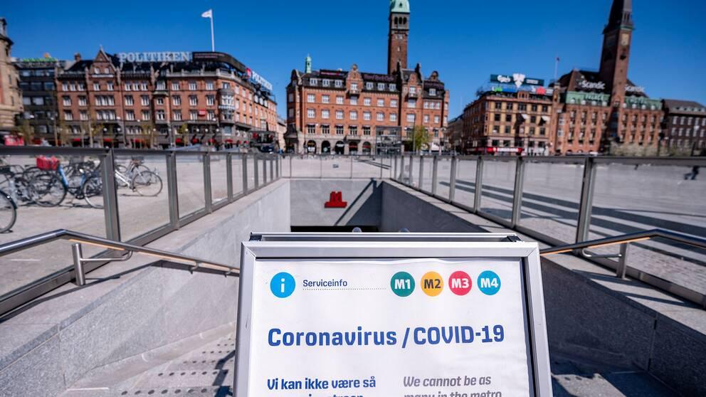 Rådhusplatsen i Köpenhamn