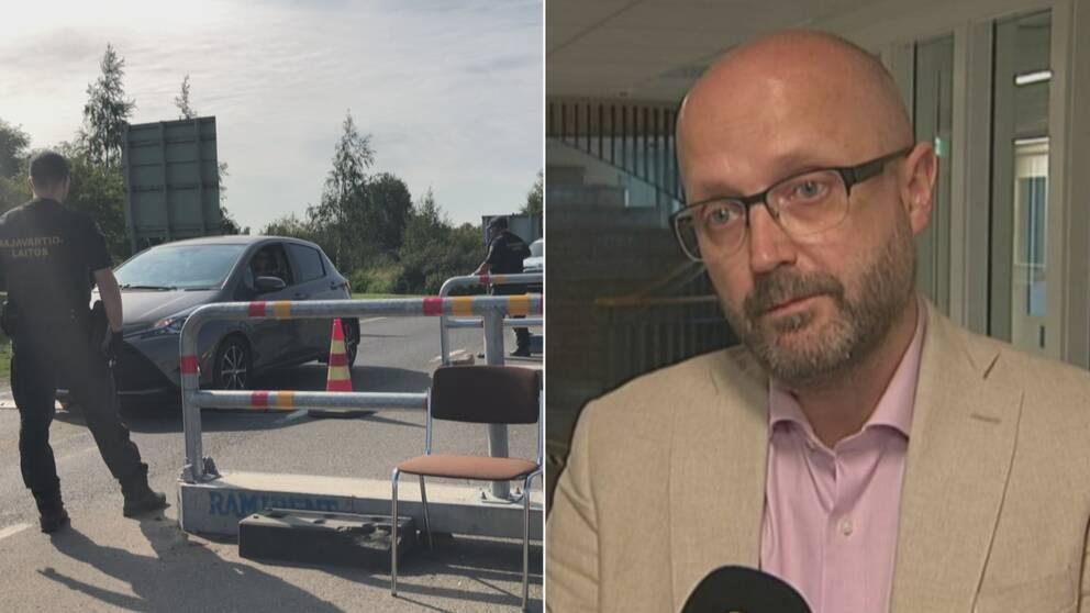 På lördagen öppnade Finland sina gränser mot Sverige och Haparandas kommunalråd Sven Tornberg (C) tog bilen till Uleåborg för att delta i en stor bordtennisturnering.