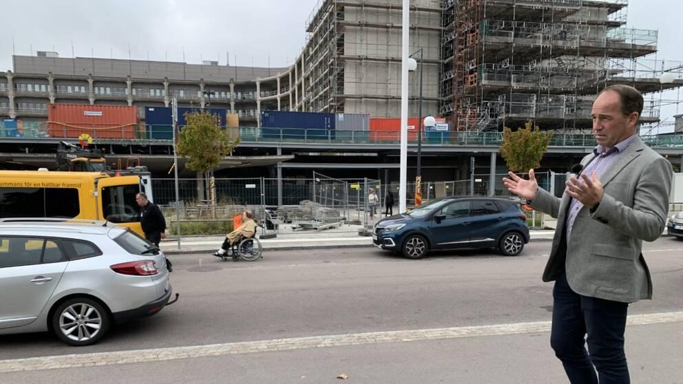 Håkan Kerrén, verksamhetschef på akuten i Helsingborg