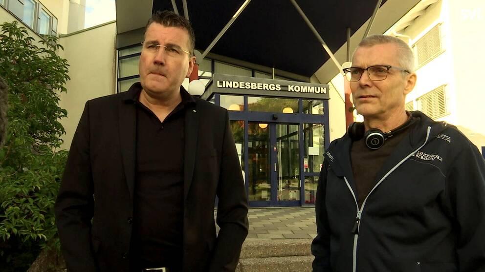 Andreas Eriksson, IT-chef vid Lindesbergs kommun, säger att ett av problemen är det sviktande underlaget – för få som tackar jag till erbjudande om fibernät