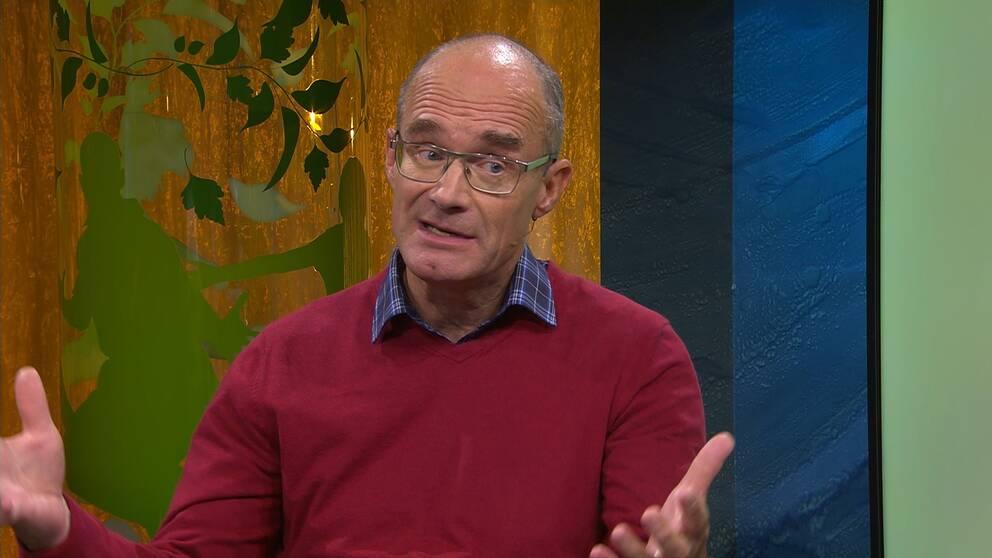 Bertil Axelsson, professor i palliativ medicin.