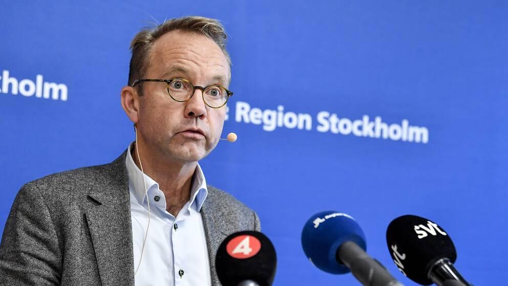 Sjukvårdsdirektör Björn Eriksson