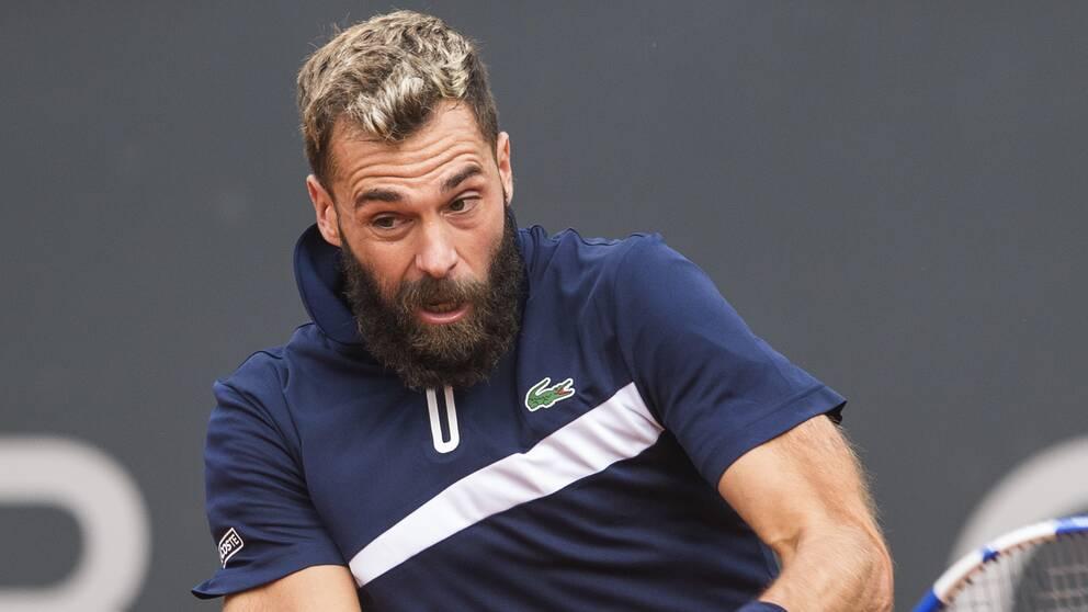 Benoit Paire har spelat Hamburg Open trots att han testats positivt för covid-19.