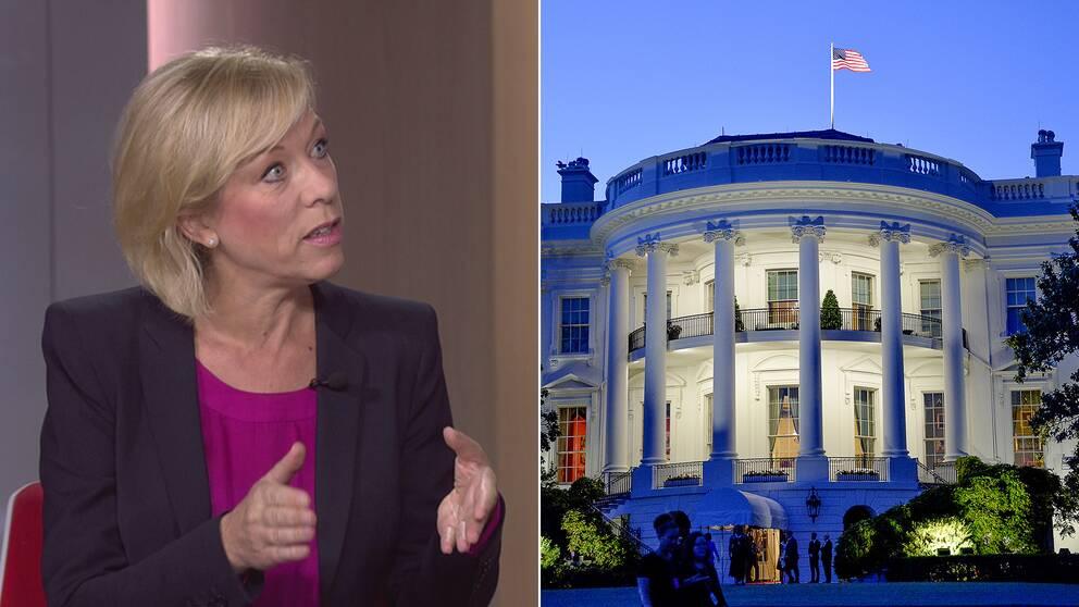 Ginna Lindberg, USA-kommentator, svarar på tittarfrågor.