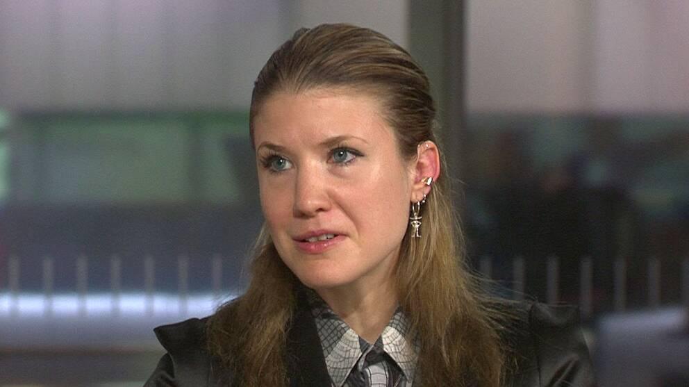Komikern Sandra Ilar