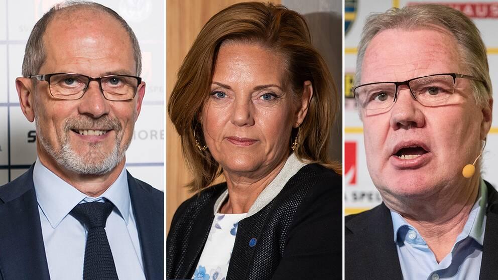 Lars-Christer Olsson, Annika Grälls och Karl-Erik Nilsson.