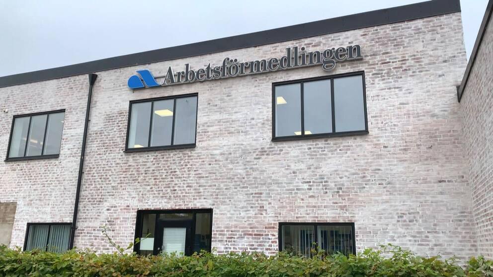 Arbetsförmedlingens kontor i Halland.