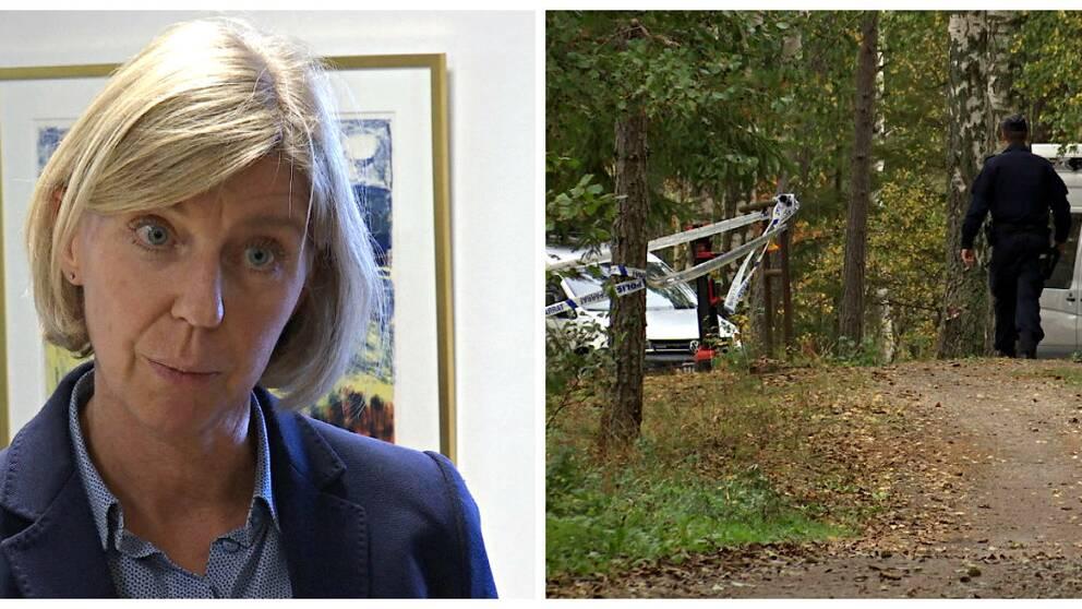 Hör åklagare Cecilia Aronsson kommentera.